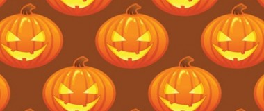 Halloween Pumpkin Pattern 520x311